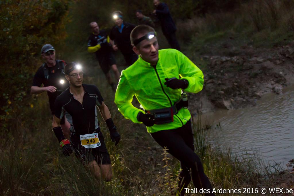 Trail nocturne des ardennes